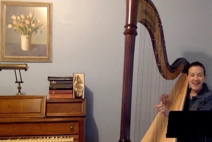 A Priest walks into a Harpist…